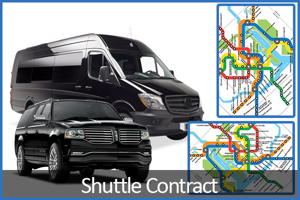 shuttle contracts DC