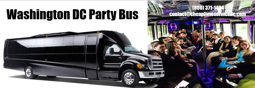 Party Bus Rental Washington DC