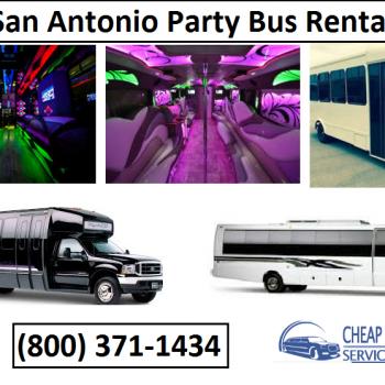 Cheap Party Bus in San Antonio