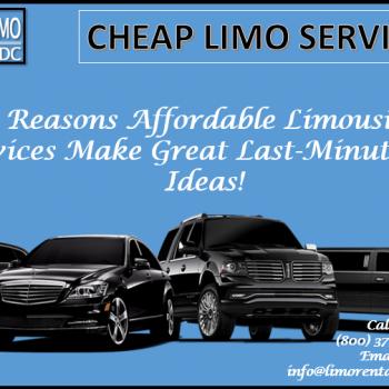 affordable limousine services