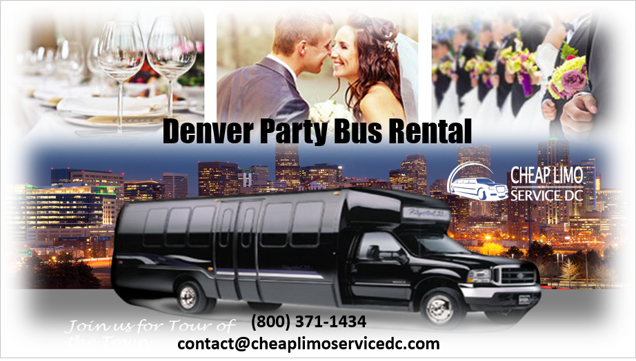 Cheap Party Buses in Denver