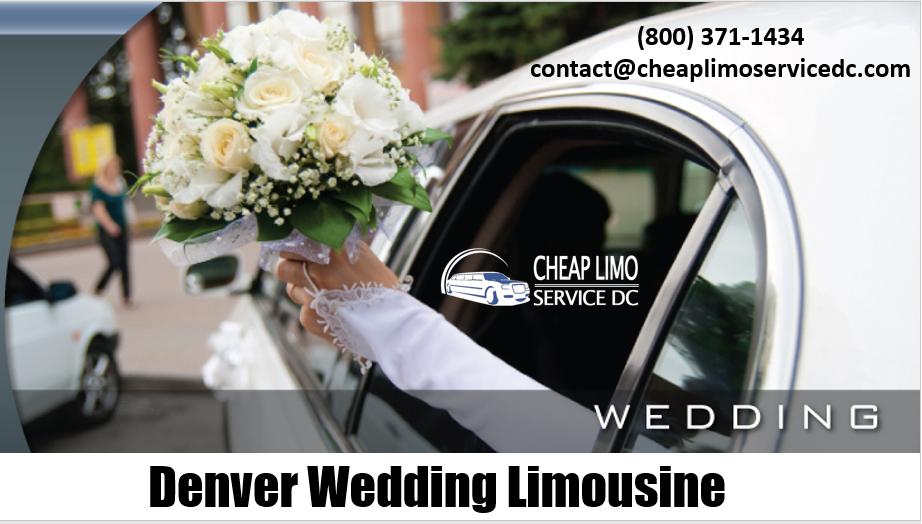 Denver Wedding Limousines