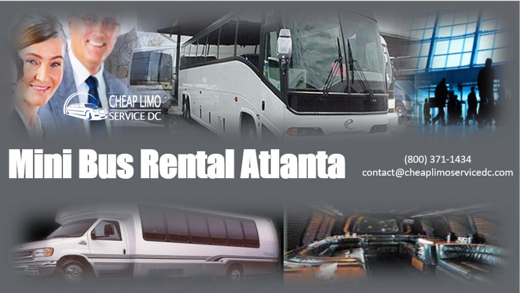 Cheap Mini Bus Rental Atlanta