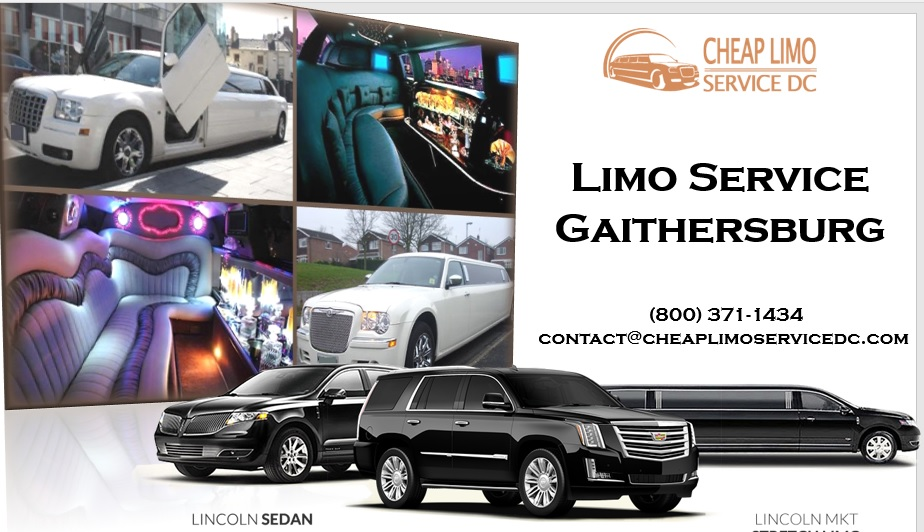 Limo Service Gaithersburg