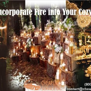Using Fire, Candles, & More for Wedding Decor