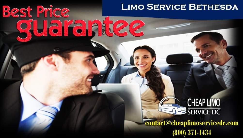 Limo Service Bethesda - (800) 371-1434