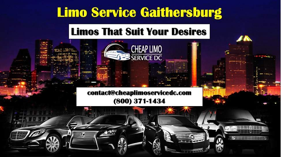 Limo service in Gaithersburg