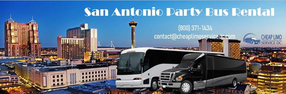 Cheap Party Bus in San Antonio