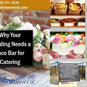 4 Reasons to Make a Taco Bar for Feeding Guests at the Wedding