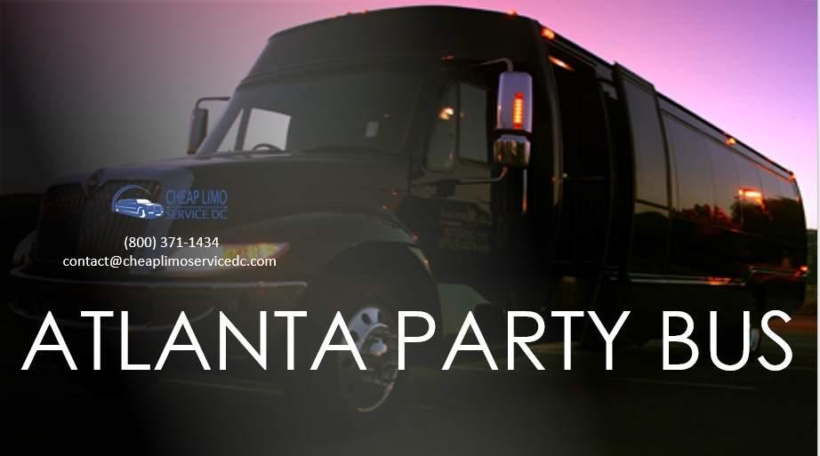 Atlanta Party Buses