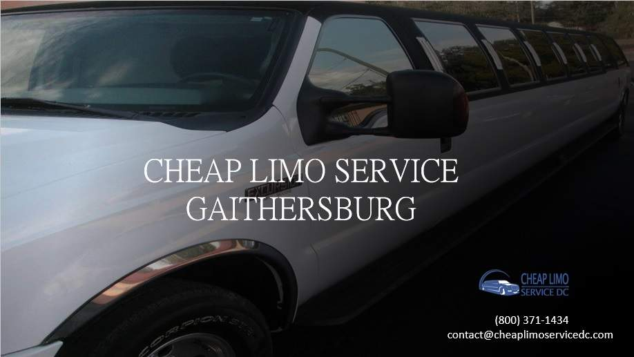 Cheap Limo Services Gaithersburg