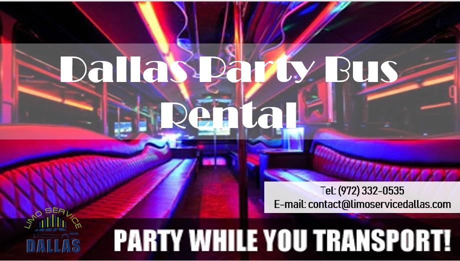 Dallas Party Bus Rentals